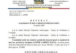 Directoarea Școlii 150 din Capitală a fost trimisă în judecată pentru fapte de corupție