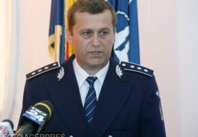 Judecătorii suspendă decizia de detașare a comisarului-șef de poliție Radu Gavriș la IPJ Harghita