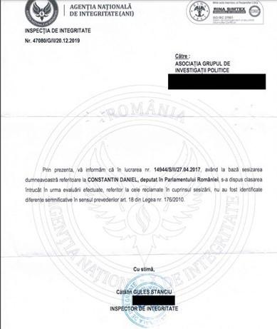 Judecătorii resping plângerea asociației lui Mugur Ciuvică împotriva ordonanței de clasare a DNA pe numele lui Daniel Constantin