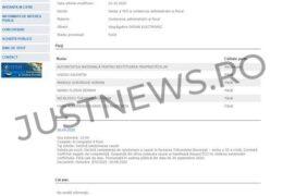 Judecarea unui dosar ANRP, cu o miză de 78 milioane de euro, a fost suspendată