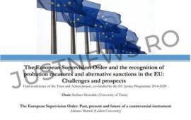 Seminar online privind cooperarea judiciară în materie penală