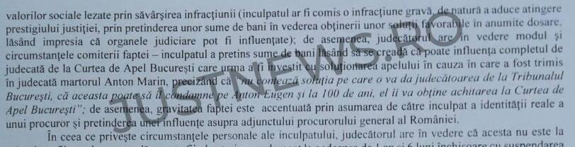 SURSE (DOCUMENTE) / Individul arestat recent într-un dosar DNA de trafic de influență dădea de înțeles că era sprijinit de procurorul general adjunct al României, Bogdan Licu